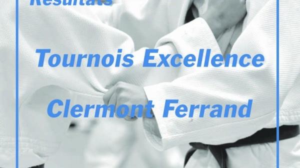 Tournoi Excellence de Clermont Ferrand - De bons résultats pour les jeunes de la Ligue