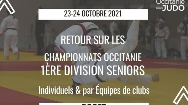 Retour sur les Championnat Occitanie 1ère Division Senior Individuels et par Equipes de Clubs - Rodez